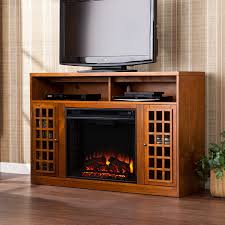 media console electric fireplace binhminh decoration