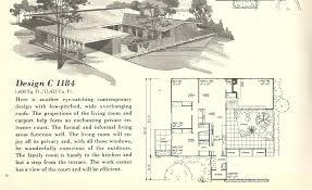 mid century modern small house plans hahnow