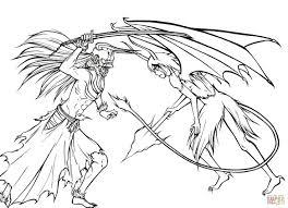 ichigo kurosaki versus ulquiorra cifer from manga bleach coloring