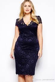 big size lace elegant dress fat women summer female clothing