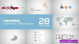 ae presentation template 500 animated icons version 10 after
