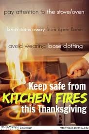 keeping safe from kitchen fires cooking the meal msu