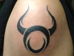 tribal bull tattoo design busbones