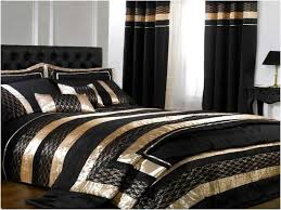 home design bedding resemblance of black and gold bedding sets for adding luxurious