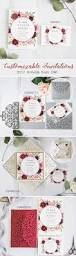Customizable Wedding Invitations Popular Shades Of Red U0026 Burgundy Wedding Invitations From Ewi 2017