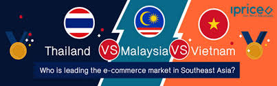 Southeast Asia Flags E Commerce In Southeast Asia Thailand Vs Vietnam Vs Malaysia Who