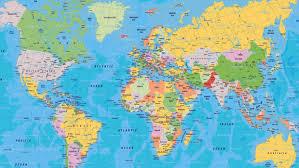 World Map Australia by World Map Thinglink