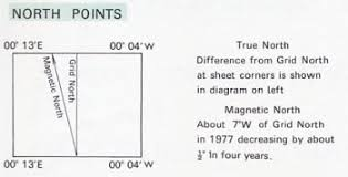 magnetic declination map calculate magnetic declination or variation values