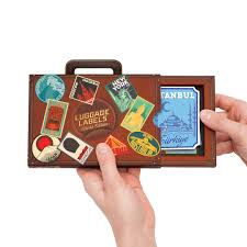 Colorado travel gadgets images Luggage label stickers vintage style luggage tags jpg