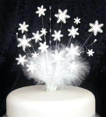 snowflake cake topper snowflake cake topper babycakes site