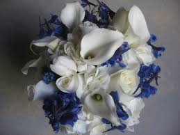 wedding flowers blue and white wedding flowers professional florist or diy colorado