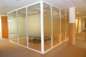 cloison aluminium bureau les cloisons de bureau vitrées toute hauteur espace cloisons alu