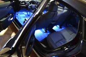 Led Strip Lights For Car Interior by Galaxy Rider Ledglow Interior Lighting Kit 2016 Honda Civic