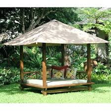 Outdoor Daybed With Canopy Outdoor Wood Daybed With Canopy Wooden Outdoor Daybed Outdoor