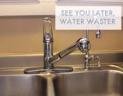 Replacing A Kitchen Faucet by See You Later Water Waster Replacing The Kitchen Faucet This
