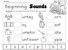 november printables kindergarten literacy and math pre school