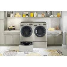 Cheap Washer Pedestal Lg Electronics 27 In Laundry Pedestal With Storage Drawer In