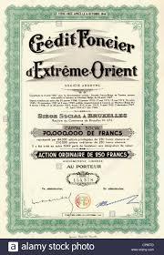 credit foncier siege social historic stock certificate banking and finance credit foncier