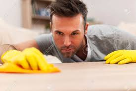 Cleaning Table Stock Images Royalty by Handsome Man Cleaning Stains Off The Table Stock Photo Picture