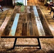 Reclaimed Dining Room Tables Inspiring The Unique Dining Table With Etsy Reclaimed Wood At