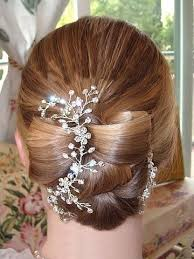 hair styles with rhinestones 534 best wedding hairstyles images on pinterest chignons
