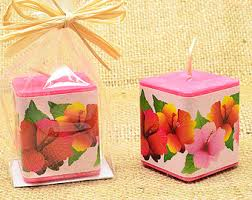 coconut candle hawaiian candle coconut shell candle scented