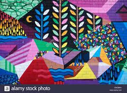 wall painting street art fremantle perth western australia stock stock photo wall painting street art fremantle perth western australia