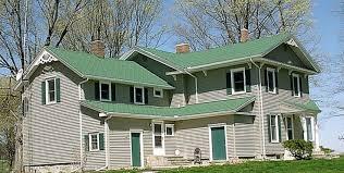 art loc hunter green roofing shingle residential project in battle