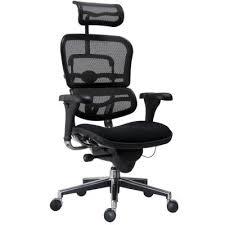 fauteuils de bureaux fauteuil de bureau ergonomique spécial lombaire noir sièges et