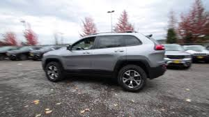 jeep trailhawk 2017 2017 jeep cherokee trailhawk billet silver hw545246 redmond