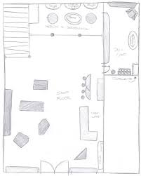 convenience store layout store floor plan crtable
