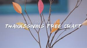 display gratitude with this thanksgiving tree craft