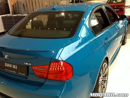 laguna seca blue e90 sedan spotted in russia
