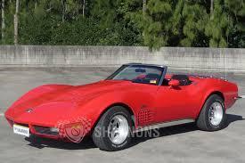 corvette stingray 1960 sold chevrolet corvette stingray convertible rhd auctions lot