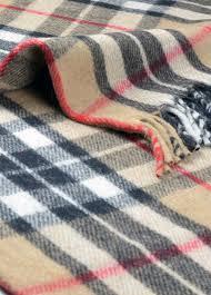 Green Throw Rug New Classic Scottish Wool Tartan Blanket Throw Rug Gift Various