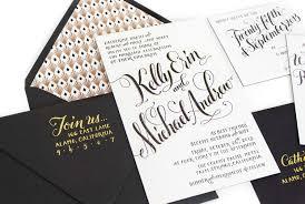calligraphy for wedding invitations wedding invitations plurabelle calligraphy design studio