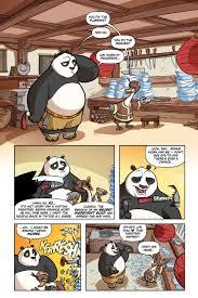 comic book preview kung fu panda daze thunder bounding