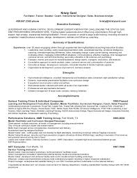 Facilitator Resume Kristy Card U0027s Resume 2015