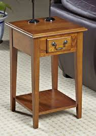 leick recliner wedge end table outstanding leick furniture 10502 laurent recliner wedge end table