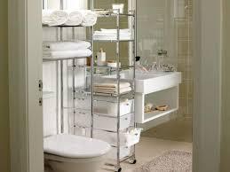 creative bathroom storage ideas stuning white twins bathroom