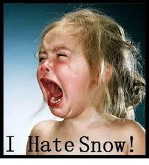 Hate Snow Meme - i hate snow meme on me me