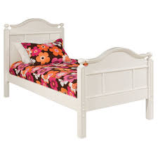 latest twin white headboard solid wood white twin bed frame with