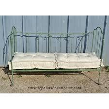 canape lit pour enfant banquette ou ancien lit d enfant fer forgé évolutif le palais des