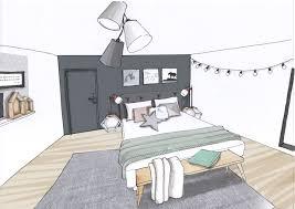 chambre feminine une chambre scandi très sobre et féminine avec du pastel et