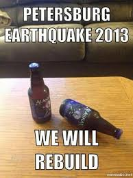 Earthquake Meme - we will rebuild know your meme
