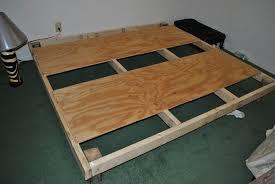 bedroom platform bed frame for tempurpedic mattress modern