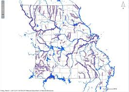 Surface Map Map Of Impaired Surface Water In Missouri Mogreenstats