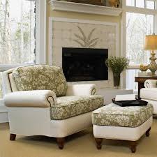 Chair And Ottoman Sets Upholstered Chair And Ottoman With Nail Head Decal By Smith