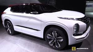 mitsubishi suv 2016 interior mitsubishi gt phev concept grand tourer exterior and interior