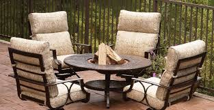 Fire Pit And Chair Set Wood Burning Fire Pit Table And Chairs Set Home Fireplaces